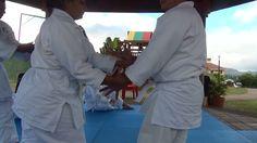 En la clase de Aikido de Sensei Lardizabal. 6 de dic. 2015 Tegucigalpa , HONDURAS