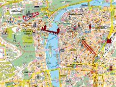 Praha... I had this exact map :)