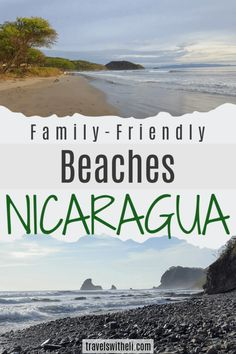 Five amazing beaches In Nicaragua near San Juan del Sur. The beaches in Nicaragua near San Juan del Sur make for an amazing and affordable family beach vacation. Surfing Destinations, Family Vacation Destinations, Vacation Spots, Family Vacations, Beach Fun, Beach Trip, Beach Vacations, Dream Vacations, Beach Travel