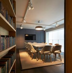 Fold 7 office refurbishment by Paul Crofts Studio