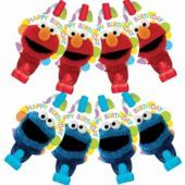 Sesame Street Party Blowouts 8ct - Party City