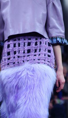 London Fashion Week Barbara Kolasinksi LCF MA14 catwalk show