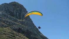 Cape Town Paragliding from Lion's Head. South Africa Adventure www.dirtyboots.co.za Adventure Activities, Best Commercials, Table Mountain, Paragliding, Tandem, Cape Town, South Africa, The Past