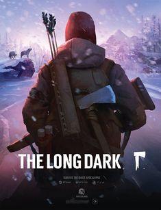 THE LONG DARK® key art poster, wide x high. The Long Dark, Long A, Epic Games, Best Games, Character Art, Character Design, Keys Art, Dark Wallpaper, Wishing Well