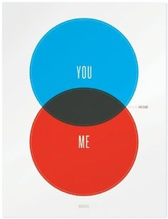 you + me = awesome poster.