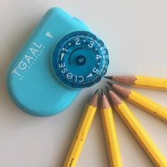 T'Gaal adjustable sharpener can sharpen your pencil 5 different ways