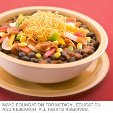 Southwest chicken and beans - Mayo Clinic - http://www.mayoclinic.org/healthy-lifestyle/recipes/southwest-chicken-and-beans/rcp-20125118