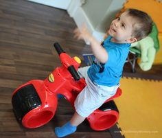 Another happy child on the PlasmaBike :) #PlasmaBike #rideon #toys