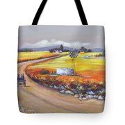 Farm Road Tote Bag Farm Cottage, South African Artists, All Wall, Original Paintings, Instagram Images, Reusable Tote Bags, Landscape, Wall Art, Canvas