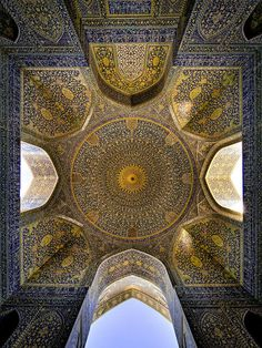 Stunning mosque ceilings highlight the intricate beauty of Islamic architecture | Dangerous Minds