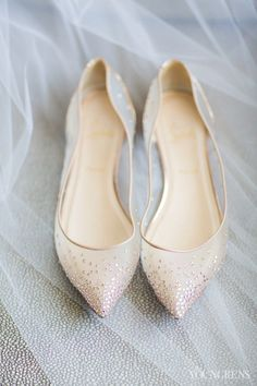 Simple and beautiful bridal flats at Washington D.C. Wedding, The Film…