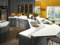 Linen Corian on sale in Group B Pricing until Dec 2015 Custom Countertops, Kitchen Countertops, Corian Colors, Hickory Kitchen Cabinets, Outdoor Furniture Sets, Outdoor Decor, Kitchen Decor, Kitchen Ideas, My Room