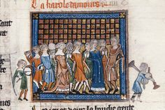 Medievalists article: How did Medieval people dance? http://www.medievalists.net/2013/09/25/how-did-medieval-people-dance/