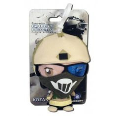 This deformed Kozak Keyring is an officially licensed collectable item based on the character from the Ghost Recon Future Soldier Video Game. £5.00 #gameonstuff www.facebook.com/gameonstuff
