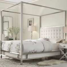Mercer41 De Niro Canopy Bed & Reviews | Wayfair