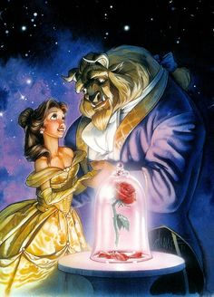 Beauty and the Beast  How do you expect someone to love your flaws when you can't accept theirs? Food for thought.
