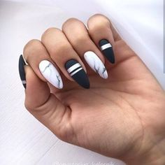 50 stunning acrylic nails inspiration - Page 36 of 50 - Rubyrui Best Acrylic Nails, Matte Nails, My Nails, Stylish Nails, Trendy Nails, Funky Nails, Nagellack Design, Fire Nails, Dream Nails
