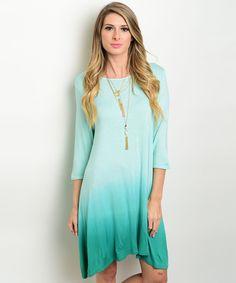 Jade Ombre Dress