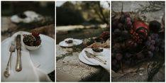 A simple mood was chosen in the set-up using an autumn color palette and natural materials, warm colors, bare branches, seasonal fruits and rich foliage. Gradisca Portento Fotografica - Fotografo di Matrimonio Pescara | Love day Inspiration Wedding | Gradisca Portento #intimatewedding #gradiscaportento #abruzzo #santamariadicartignano #tirino #rusticwedding #weddinginitaly #bohowedding Italy Wedding, Boho Wedding, Rustic Wedding, Seasonal Fruits, Fall Color Palette, Love Days, Fruit In Season, Warm Colors, Natural Materials