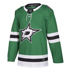 ee349789351 Dallas Stars HOME GREEN 252J Adidas NHL Authentic Pro Jersey