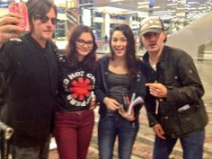 Sending Andrew Lincoln and Norman Reedus off to Tokyo!! :)