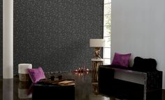 Collection : B&W Végétal #papierpeint  #decoration #interieur #noir #blanc #blackandwhite #noiretblanc #Caselio  http://www.caselio.fr