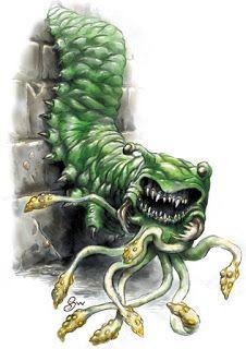 Dungeons & Dragons Carrion Crawler Tabletop & Miniature Gaming ...