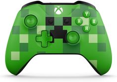 Microsoft Xbox One Wireless Controller - Minecraft Creeper Brand NEW Brand new in original retail packaging. Do you breathe, eat, and live all things ... #xbox #minecraft #creeper #green #controller #wireless #microsoft