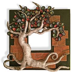 Stephanie, one of the students in the Ohio Reformatory for Women polymer class created this lovely frame for the exhibit, Reflections from a Gated Community: Art from Ohio Inmates that opens at our local (High Road Gallery) gallery this Sunday. Polymer Clay Sculptures, Sculpture Clay, Polymer Clay Art, Polymer Clay Projects, Polymer Clay Creations, Clay Crafts, Name Plate Design, Clay Wall Art, Biscuit