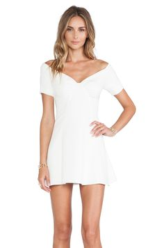 NBD NBD Whoops Fit & Flare Dress in Ivory | REVOLVE