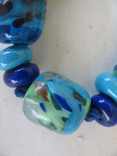 My own glass beads
