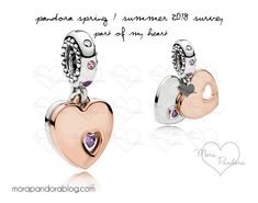 Pandora Spring/Summer 2018 charms