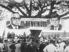 US President Kennedy in Venezuela,Ciudad Alianza site,Carabobo