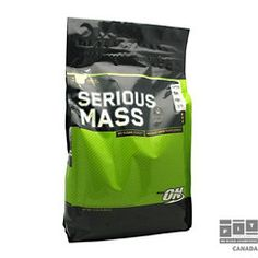 Sponsored - Serious Mass Vanilla lb by Optimum Nutrition Weight Gain Supplements, Anti Aging Supplements, Protein Supplements, Nutrition Tips, Diet Tips, Nutrition Activities, Nutrition Store, Sports Nutrition
