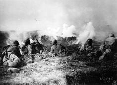 1st Marine Division Fights Japanese On Okinawa