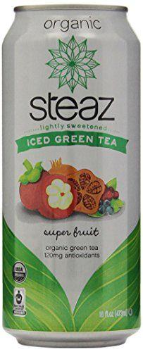 My favorite drink!  Steaz Organic Iced Teaz Green Tea with Superfruit, 16 Ounce (Pack of 12) Steaz http://www.amazon.com/dp/B00A0DWL2C/ref=cm_sw_r_pi_dp_Lkivub0DEJREX