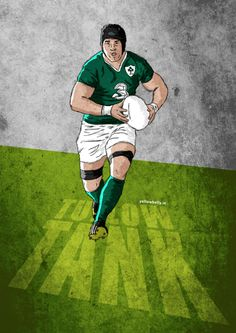 Illustration on Sport, focussing primarily on GAA Rugby Wallpaper, Ireland Rugby, Baboon, Art For Art Sake, Sports Art, Moroccan Style, Masculine Cards, Figure Painting, Dallas Cowboys
