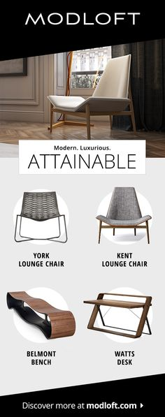 Click today to discover luxuriously accessible designs at modloft.com