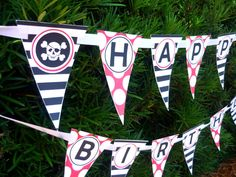 Pirate Party Banner Printable