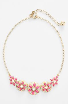 Loving this ultrafemme gold-plated Kate Spade necklace.