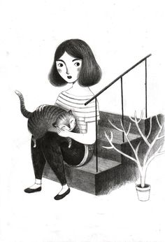 """Giulia Tomaiwas born in Rome, Italy, on January 13th of 1990. Sheattended the Illustration course at the European Institute of Design inRome. After obtaining her degree on November of 2011, Giulia founded Studio Pilar withother five illustrators. The artist isrepresented by Illozoo Illustration Agency. Some of her published books are: """"Cyrano"""" (Armando Curcio Editore, … … Continue reading →"""