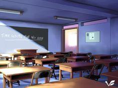 Classroom by vantasyartz