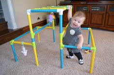 Sensory boards for kids neat idea toys for boys for Baby jungle gym indoor