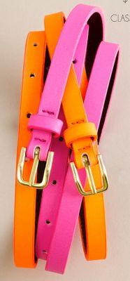 Pink + Orange: J Crew
