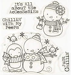 Chillin' Peeps Clear Stamp Set by Art Gone Wild & Friends Whimsy Stamps, Digi Stamps, Simply Stamps, Doodles, Cards For Friends, Penny Black, Coloring Book Pages, Clear Stamps, Doodle Art
