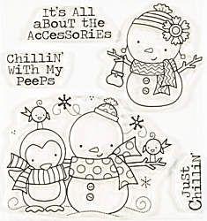 Chillin' Peeps Clear Stamp Set by Art Gone Wild & Friends (4007136)