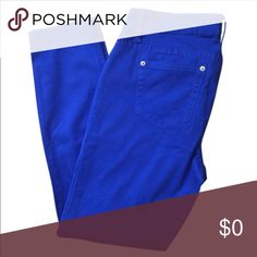 ▪️ZCO Royal Blue Pants ✨ZCO Royal Blue Pants ZCO Pants Straight Leg