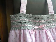 Pretty dress idea.