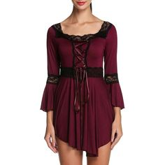 Etuoji Women's Square Neck Victorian Gothic Renaissance Corset Top ($499) ❤ liked on Polyvore featuring tops, corset tops, purple button down shirt, victorian shirt, purple button up shirt and button up shirts