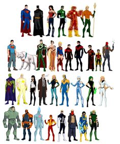 The New 52 Young Justice Style